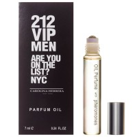 Carolina Herrera 212 vip men are you on the list aprfum oil 7ml