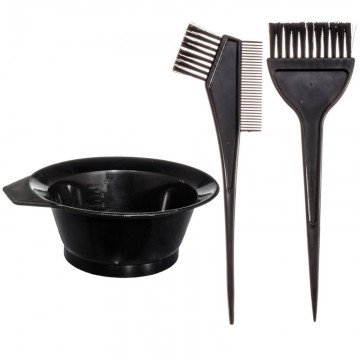 Набор кистей для окраски с миской Th collection comb, 2 кисти