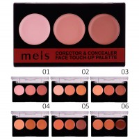 Корректор консилер Meis corrector&concealer face touch-up palette MS0309-C