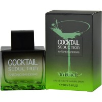 Antonio Banderas cocktail seduction in black 100 ml