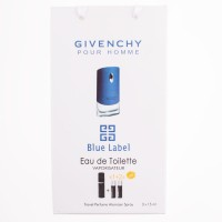 Givenchy pour homme blue label 45ml, подарочный набор