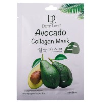 Маска для лица Darry Love 1036 avocado collagen mask